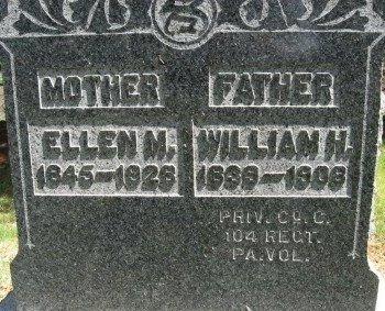 STINER (CW), WILLIAM H. - Bucks County, Pennsylvania | WILLIAM H. STINER (CW) - Pennsylvania Gravestone Photos