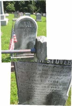 STOVER (CW), JOHN H. - Bucks County, Pennsylvania | JOHN H. STOVER (CW) - Pennsylvania Gravestone Photos