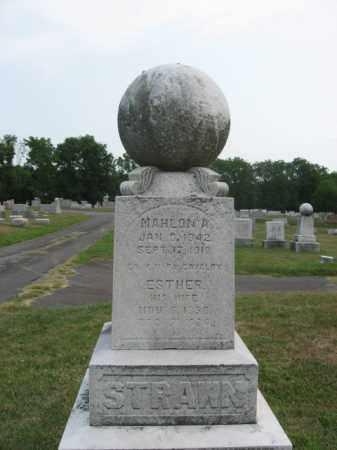 STRAWN, MAHLON  A. - Bucks County, Pennsylvania | MAHLON  A. STRAWN - Pennsylvania Gravestone Photos