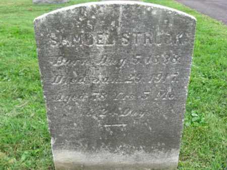 STROCK, SAMUEL - Bucks County, Pennsylvania | SAMUEL STROCK - Pennsylvania Gravestone Photos