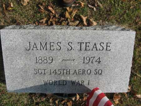 TEASE, JAMES S. - Bucks County, Pennsylvania | JAMES S. TEASE - Pennsylvania Gravestone Photos