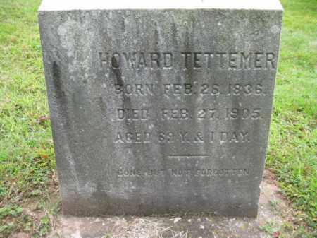 TETTEMER, HOWARD - Bucks County, Pennsylvania | HOWARD TETTEMER - Pennsylvania Gravestone Photos