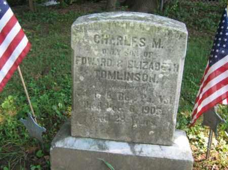 TOMLINSON (CW), CHARLES M. - Bucks County, Pennsylvania | CHARLES M. TOMLINSON (CW) - Pennsylvania Gravestone Photos