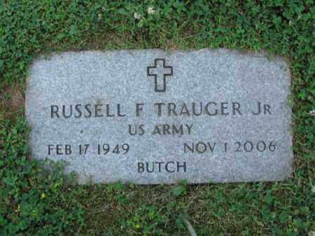 TRAUGER,JR., RUSSELL F. - Bucks County, Pennsylvania | RUSSELL F. TRAUGER,JR. - Pennsylvania Gravestone Photos