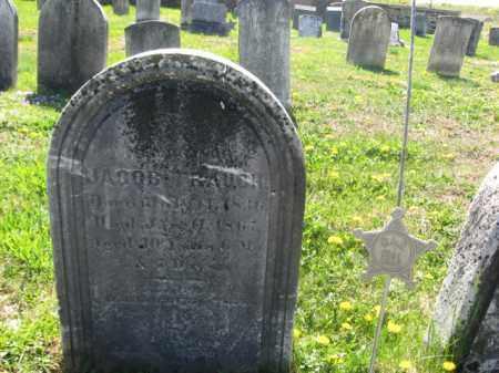 TRAUGH, JACOB - Bucks County, Pennsylvania | JACOB TRAUGH - Pennsylvania Gravestone Photos