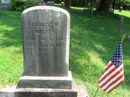 WALTER (CW), GEORGE W. - Bucks County, Pennsylvania   GEORGE W. WALTER (CW) - Pennsylvania Gravestone Photos