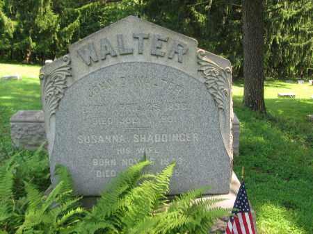 WALTER (CW), JOHN D. - Bucks County, Pennsylvania | JOHN D. WALTER (CW) - Pennsylvania Gravestone Photos