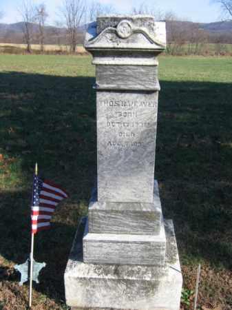 WEAVER (CW), THOMAS - Bucks County, Pennsylvania | THOMAS WEAVER (CW) - Pennsylvania Gravestone Photos