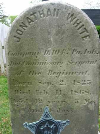 WHITE   (CW), SGT. JONATHAN - Bucks County, Pennsylvania | SGT. JONATHAN WHITE   (CW) - Pennsylvania Gravestone Photos