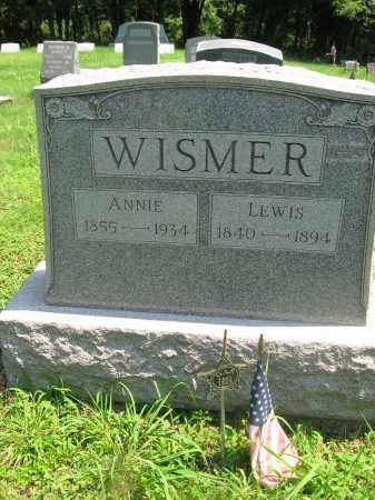 WISMER (CW), LEWIS - Bucks County, Pennsylvania   LEWIS WISMER (CW) - Pennsylvania Gravestone Photos