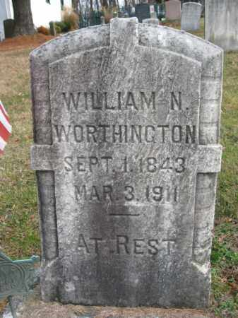 WORTHINGTON (CW), WILLIAM N. - Bucks County, Pennsylvania | WILLIAM N. WORTHINGTON (CW) - Pennsylvania Gravestone Photos