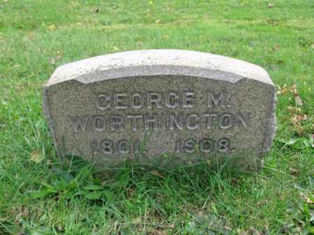 WORTHINGTON, GEORGE - Bucks County, Pennsylvania | GEORGE WORTHINGTON - Pennsylvania Gravestone Photos