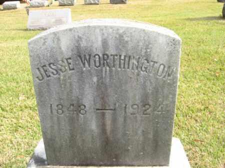 WORTHINGTOPN, JESSE - Bucks County, Pennsylvania | JESSE WORTHINGTOPN - Pennsylvania Gravestone Photos