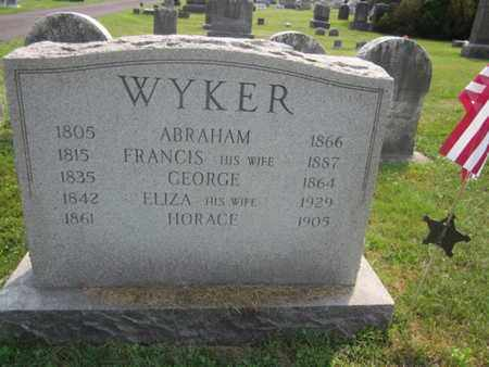 WYKER (CW), GEORGE - Bucks County, Pennsylvania | GEORGE WYKER (CW) - Pennsylvania Gravestone Photos