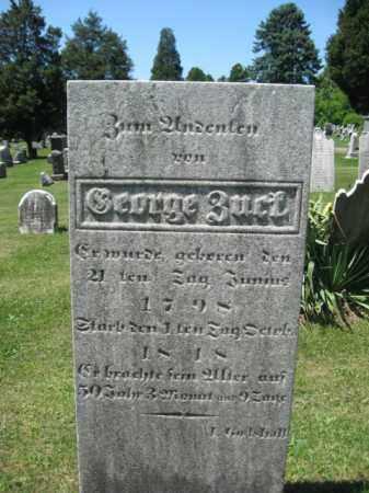 ZUCK, GEORGE - Bucks County, Pennsylvania | GEORGE ZUCK - Pennsylvania Gravestone Photos