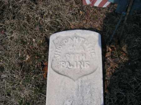 CANTLING (CW), JOHN - Carbon County, Pennsylvania   JOHN CANTLING (CW) - Pennsylvania Gravestone Photos
