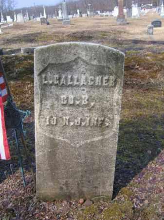 GALLAGHER (CW), LANTE (LENTY) - Carbon County, Pennsylvania | LANTE (LENTY) GALLAGHER (CW) - Pennsylvania Gravestone Photos