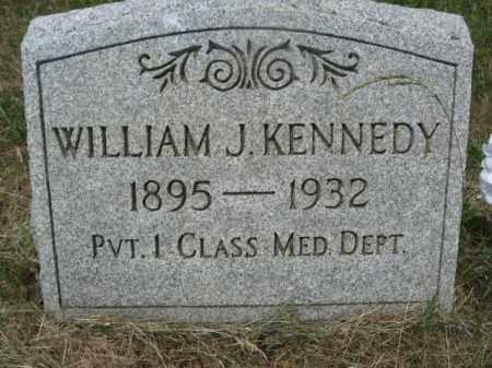 KENNEDY, WILLIAM J. - Carbon County, Pennsylvania | WILLIAM J. KENNEDY - Pennsylvania Gravestone Photos