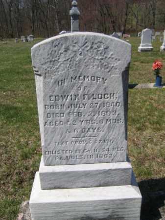 LOCH (CW), EDWIN F. - Carbon County, Pennsylvania   EDWIN F. LOCH (CW) - Pennsylvania Gravestone Photos
