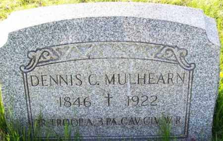 MULHEARN (CW), DENNIS C. - Carbon County, Pennsylvania   DENNIS C. MULHEARN (CW) - Pennsylvania Gravestone Photos