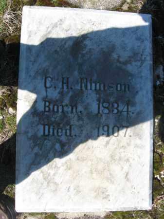 NIMSON, C.H. - Carbon County, Pennsylvania   C.H. NIMSON - Pennsylvania Gravestone Photos