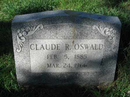 OSWALD, CLAUDE R. - Carbon County, Pennsylvania | CLAUDE R. OSWALD - Pennsylvania Gravestone Photos