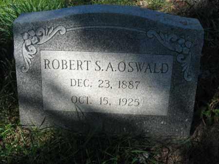 OSWALD, ROBERT S.A. - Carbon County, Pennsylvania | ROBERT S.A. OSWALD - Pennsylvania Gravestone Photos