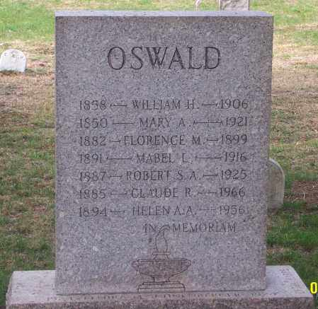 OSWALD, ROBERT S. A. - Carbon County, Pennsylvania | ROBERT S. A. OSWALD - Pennsylvania Gravestone Photos
