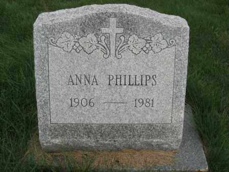 PHILLIPS, ANNA - Carbon County, Pennsylvania | ANNA PHILLIPS - Pennsylvania Gravestone Photos