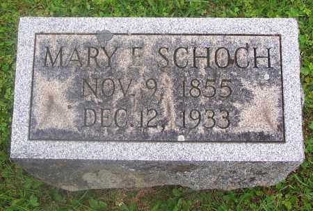 SCHOCH, MARY E. - Carbon County, Pennsylvania | MARY E. SCHOCH - Pennsylvania Gravestone Photos