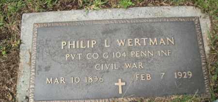 WERTMAN(CW), PHILIP L. - Carbon County, Pennsylvania   PHILIP L. WERTMAN(CW) - Pennsylvania Gravestone Photos