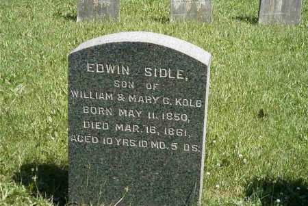 KOLB, EDWIN SIDLE - Chester County, Pennsylvania | EDWIN SIDLE KOLB - Pennsylvania Gravestone Photos