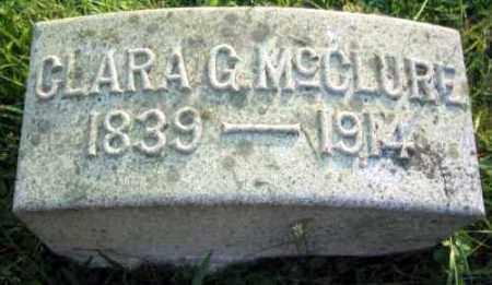 MCCLURE, CLARA G. - Chester County, Pennsylvania | CLARA G. MCCLURE - Pennsylvania Gravestone Photos