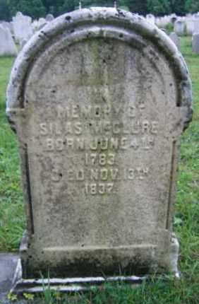MCCLURE, SILAS - Chester County, Pennsylvania | SILAS MCCLURE - Pennsylvania Gravestone Photos