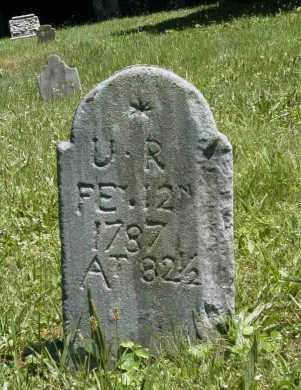 R., U. - Chester County, Pennsylvania | U. R. - Pennsylvania Gravestone Photos