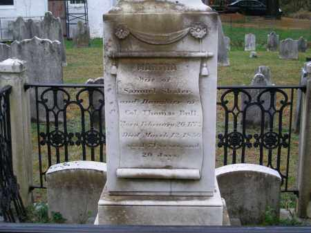 SHAFER, MARTHA - Chester County, Pennsylvania   MARTHA SHAFER - Pennsylvania Gravestone Photos