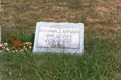 JOHNSON, BENJAMIN - Clearfield County, Pennsylvania | BENJAMIN JOHNSON - Pennsylvania Gravestone Photos