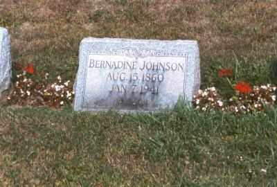 JOHNSON, BERNADINE - Clearfield County, Pennsylvania | BERNADINE JOHNSON - Pennsylvania Gravestone Photos