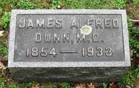 DUNN, JAMES ALFRED - Crawford County, Pennsylvania | JAMES ALFRED DUNN - Pennsylvania Gravestone Photos
