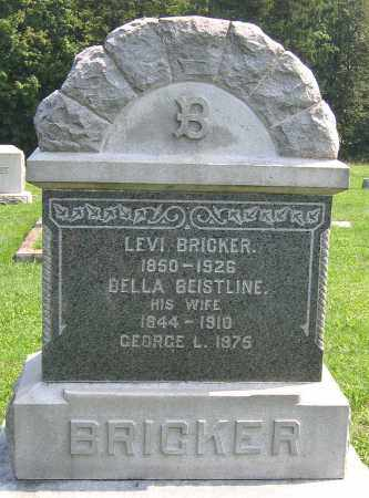 BRICKER, LEVI - Cumberland County, Pennsylvania | LEVI BRICKER - Pennsylvania Gravestone Photos