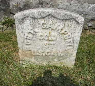 CAMPBELL (CW), ROBERT B. - Cumberland County, Pennsylvania | ROBERT B. CAMPBELL (CW) - Pennsylvania Gravestone Photos