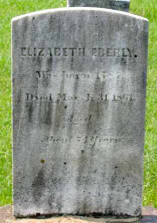 EBERLY, ELIZABETH - Cumberland County, Pennsylvania | ELIZABETH EBERLY - Pennsylvania Gravestone Photos