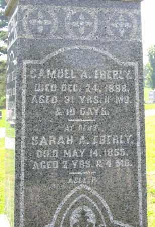 EBERLY, SARAH A. - Cumberland County, Pennsylvania   SARAH A. EBERLY - Pennsylvania Gravestone Photos