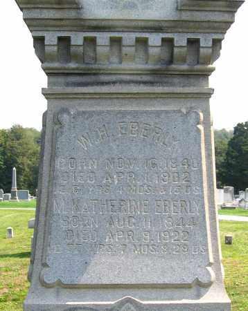 EBERLY, MARY KATHERINE - Cumberland County, Pennsylvania | MARY KATHERINE EBERLY - Pennsylvania Gravestone Photos