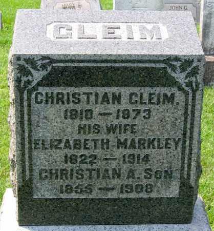 GLEIM, ELIZABETH - Cumberland County, Pennsylvania   ELIZABETH GLEIM - Pennsylvania Gravestone Photos