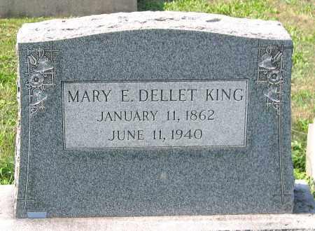KING, MARY E. DELLET - Cumberland County, Pennsylvania   MARY E. DELLET KING - Pennsylvania Gravestone Photos