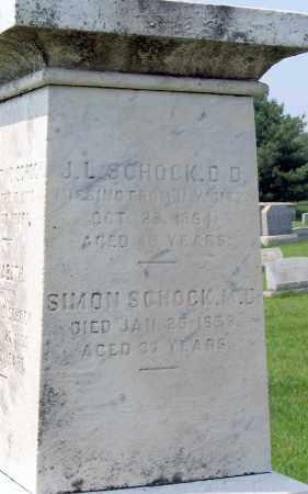 SCHOCK, SIMON - Cumberland County, Pennsylvania | SIMON SCHOCK - Pennsylvania Gravestone Photos