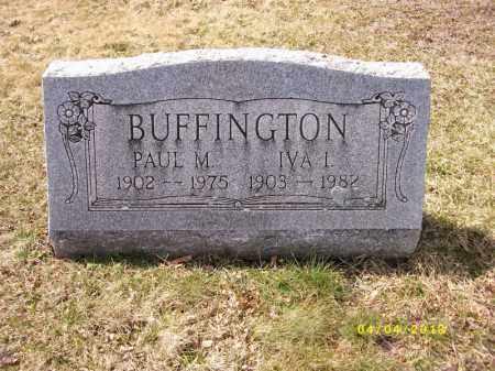 MATTER BUFFINGTON, IVA IRENA - Dauphin County, Pennsylvania | IVA IRENA MATTER BUFFINGTON - Pennsylvania Gravestone Photos