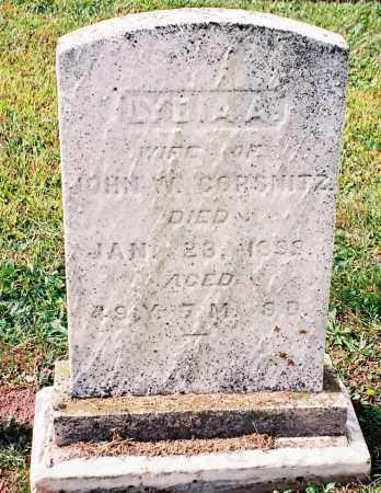 CORSNITZ, LYDIA A - Dauphin County, Pennsylvania   LYDIA A CORSNITZ - Pennsylvania Gravestone Photos