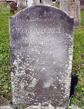 CRAIN, GEORGE - Dauphin County, Pennsylvania | GEORGE CRAIN - Pennsylvania Gravestone Photos